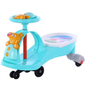 Roda silencioso novo Kids Swing Carro com muitos música pura