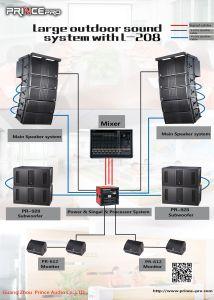 Pr-928 si raddoppiano altoparlante potente professionale Subwoofers di Jl DJ di 18 pollici audio