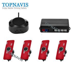 Sensor de estacionamento sonoro simples com 4 16,5 mm originais Cabeças do Sensor
