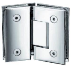 Liga de zinco Porta de vidro chuveiro Dobradiça (FS-303)