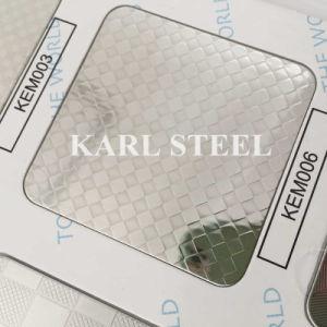 Stainless impresso 304 Steel Sheet a Foshan Cina