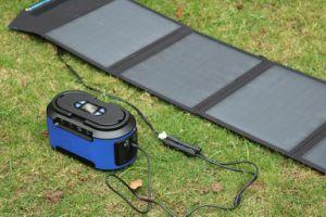 weg Rasterfeld-Systems-vom mini beweglichen Solargenerator-Batterie-Satz mit Sonnenkollektor