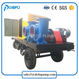 Suministro de fábrica el remolque montado impulsado por motor Diesel Bomba de flujo de mezcla