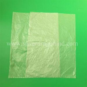 Kundenspezifisches Nahrungsmittelgrad HDPE flache PlastikEinkaufstasche auf Rolle für Supermarkt