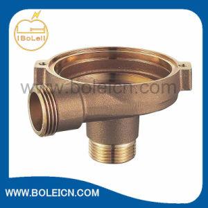 Cubierta natural de bronce de la bomba de la agua en circulación del color del bastidor
