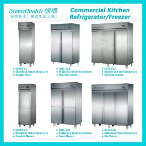 Green&Health HandelsEdelstahl-Küche-Kühlraum für Gaststätte