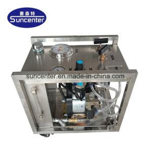 Modelo De Portátil Suncenter neumática de salida de la prueba de agua el sistema de bombeo para tuberías