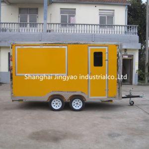 ステンレス鋼の食糧トレーラー/食糧キオスク/ケイタリングのトレーラーの食糧トラック