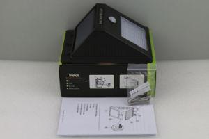 Nuevo diseño exclusivo de 12 LED Captador Solar de la luz de la pared exterior