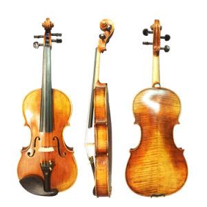 Профессиональный немецкий Stradivari скрипка ручной работы сделаны в Китае