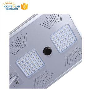 Sensor de movimiento exterior impermeable calle la luz solar LED 50W