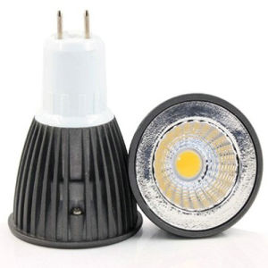 220V MR16 5W COB LED Lighting mit Black House Color