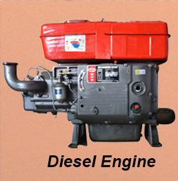 De kleine Horizontale Mariene Dieselmotor van de Motor