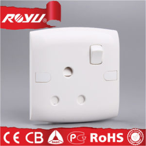 Medio Oriente Britannici 86*86 Size 1gang 15A Switched Socket