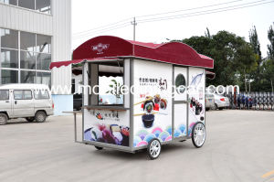 Ресторан для мобильных ПК тележки/погрузчика для мобильных ПК кухня питание Ван для продажи