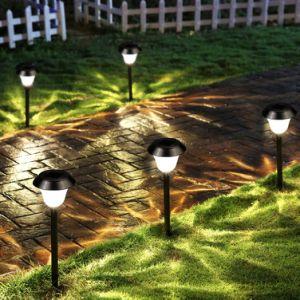 [فكتوري بريس] [ستينلسّ ستيل] شمسيّ [لد] مرج ضوء لأنّ فناء فناء حديقة