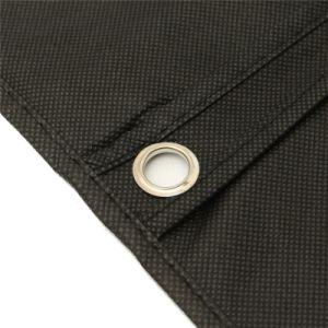 Costume noir Sac postal Hanger robe d'accueil de stockage enduire vêtement Sac de voyage de stockage