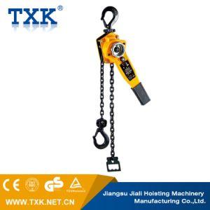 Levier de haute efficacité/bloc de chaîne de 1,5 tonne de bloc manuel