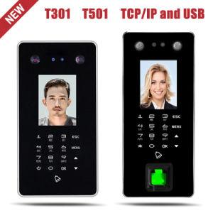 USB e o TCP/IP Manage Software de reconhecimento facial e a presença de Controle de Acesso