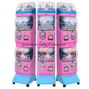 子供の小型カプセルのGashaponのおもちゃの自動販売機