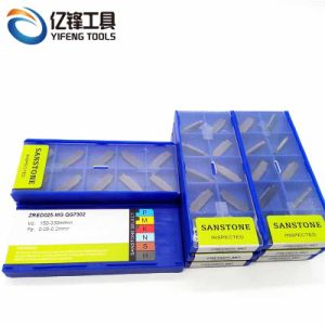 Zred025-Mg d'outils en carbure et de séparation de rainurage