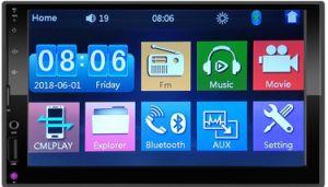 Ecran TFT 7 pouces HD voiture lecteur MP5 avec IOS et Android lien miroir