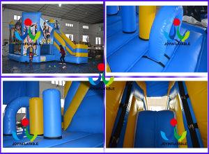 Exibires os saltos insuflável castelo insuflável com deslize (ALEGRIA6-180)