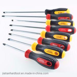 Cacciavite della gomma dell'utensile manuale 25, insieme del cacciavite, cacciavite, cacciaviti magnetici