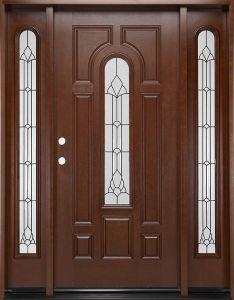 Portello classico inserito decorativo della vetroresina di vetro Tempered