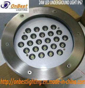 Gutes helles 24W LED Tiefbaulicht LED-in IP67