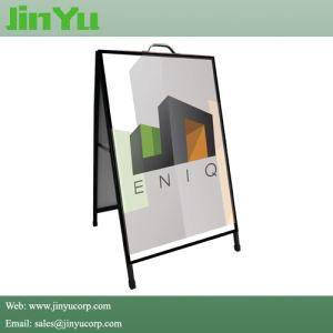 Soporte de la pantalla portátil al aire libre Metal fotograma póster