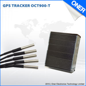 GSM GPS vehículo Tracker con Teperature detectar