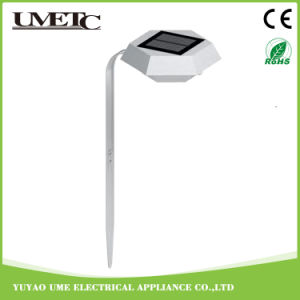 Luz al aire libre modificada para requisitos particulares del césped del jardín del sensor de la energía solar LED