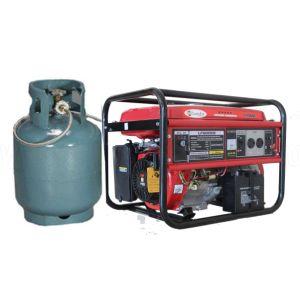 5KW 6kVA Semi-Closed Silencioso Preço gerador de gás natural de GPL