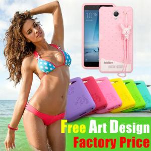 Téléphone portable personnalisé de haute qualité couvercle en silicone/silicone pour iPhone