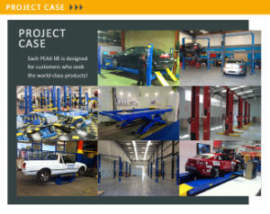 Super 2 Workshop Hidráulico Simétrica Post Carro Elevador (209C)