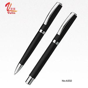 가장 새로운 디자인 로고에 의하여 주문을 받아서 만들어지는 금속 펜 선전용 품목 펜