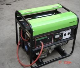 携帯用天燃ガスおよびLPGの発電機セット(ENG2500LPG)