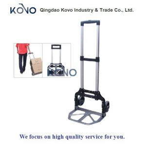 유럽을%s 70kg Folding Luggage Cart