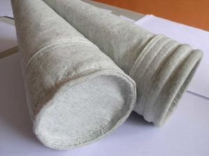 Gevoelde Naald van de Installatie van het Cement van de Zakken van de Filter van de Vezel van de polyester de Antistatische