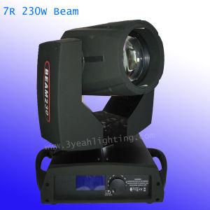7r Sharpy 230W Cabezal movible de haz de iluminación de escenarios