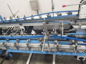 Control Corrugated Paperboard Pasting Folder Gluer (GK-1600PC)에 쉬운