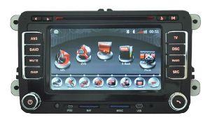 DVD для автомобилей Volkswagen и Skoda/мест Bluetooth GPS, телевизор, дисплеем Full HD (H7019)