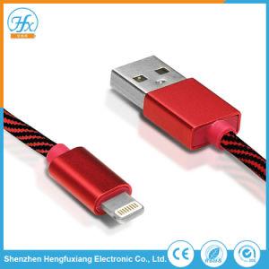 5V/2.1A 1m携帯電話のためのユニバーサルUSBデータ電光ケーブル