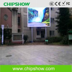 Chipshow Outdoor Comercial P10 Affichage LED de la publicité