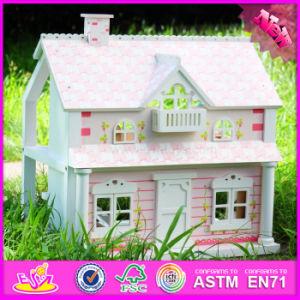 2016 Venda por grosso de madeira do bebé Doll House brinquedos W06UM041b