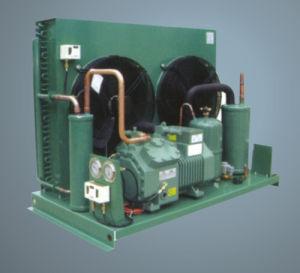 Unidade de Compressor Bitzer na sala fria