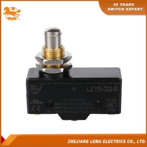 Lema del émbolo de montaje en panel Micro interruptor de límite de Lz15-gq-B