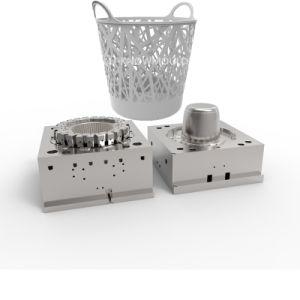 Fabricante de moldes Taizhou Rattan Cesta Lavandería Caja de Almacenamiento del molde molde Proveedor