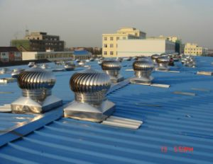 産業屋根のタービン空気換気装置(TG-880、TG-500、TG-300)